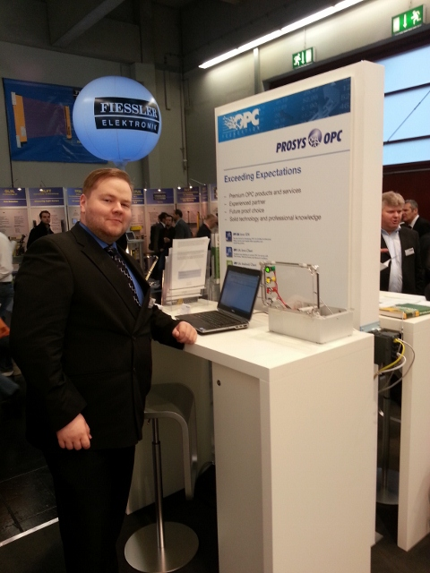 Otso ready to demonstrate OPC UA on Android