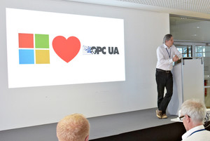 Erich Barnstedt, Microsoft Loves OPC UA