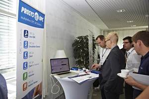Prosys OPC Booth, click to enlarge