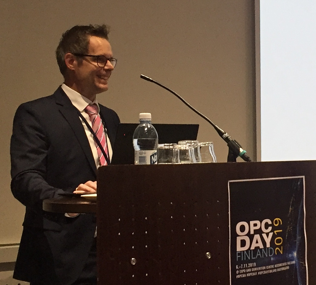 Josef Trapl at the OPC Day Finland 2019