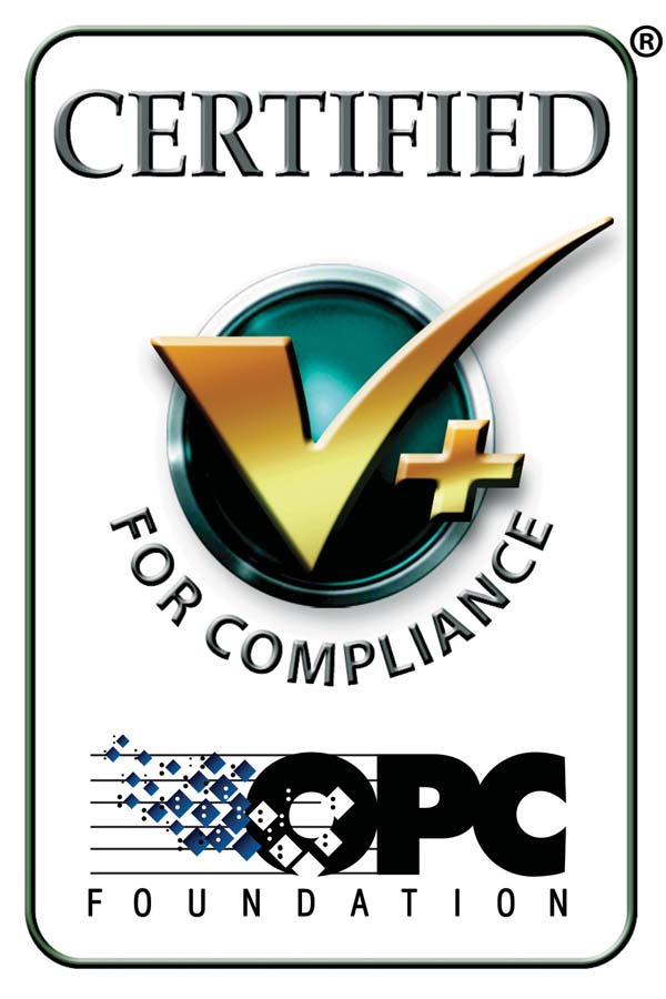 OPC Foundation Certified